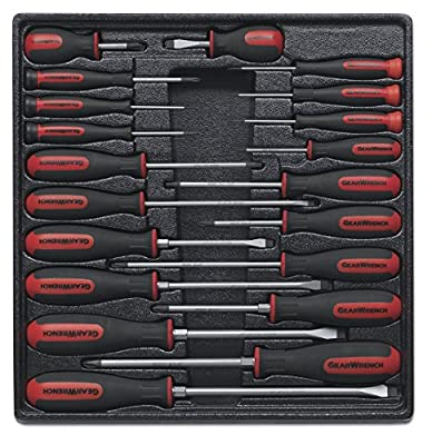 GearWrench 80066 20 Piece Master Dual Material Screwdriver Set by GearWrench