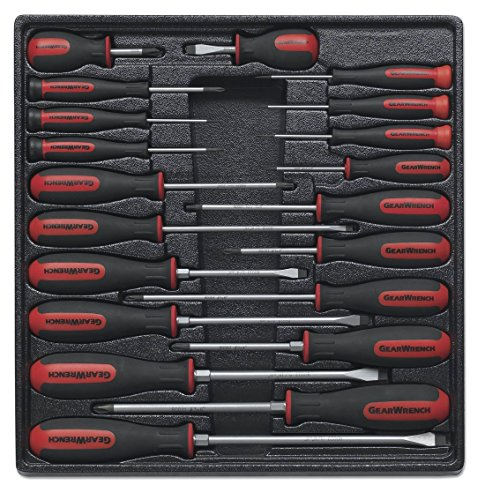 GearWrench 80066 20 Piece Master Dual Material Screwdriver Set (Gearwrench Master Set)