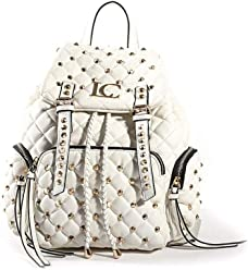 ee41981147 LA CARRIE BAG ZAINO CHESTER 191-Z-200 BIANCO WHITE