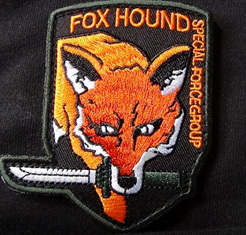 Metal Gear FOX HOUND Special Force Logo Patch 3.5