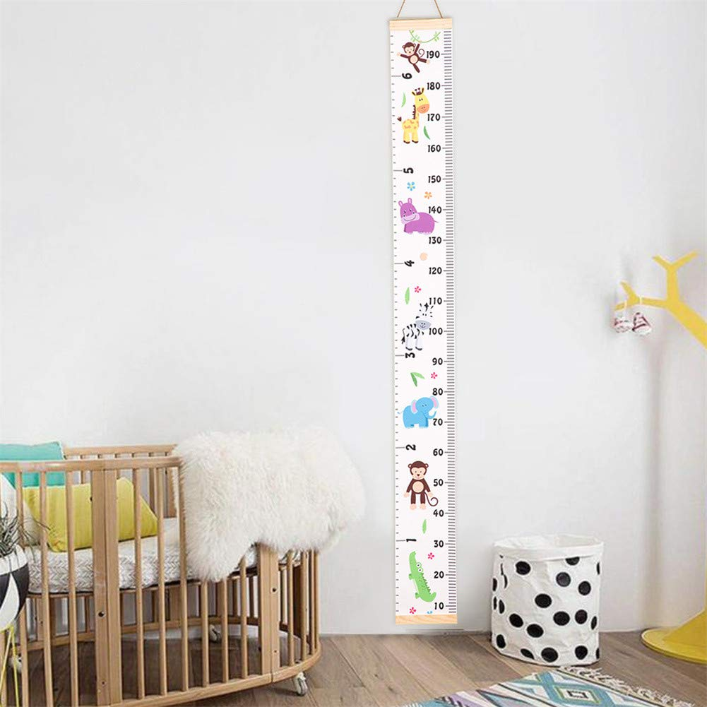 Bedrooms Grandchild Kids Ruler Height Measure Chart Great for Nurseries Child Takefuns Wall Ruler Growth Chart Baby Growth Chart Height Growth Chart to Measure Baby Wall Decor
