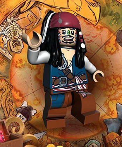 Jack Sparrow (Cannibal Escape) Lego Pirates of the Caribbean Minifigure (Cannibal Jack Caribbean)
