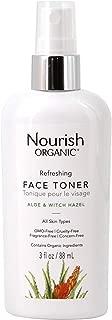 product image for Nourish Organic | Refreshing Skin Toner - Aloe & Witch Hazel | GMO-Free, Cruelty Free, 100% Vegan (3oz)