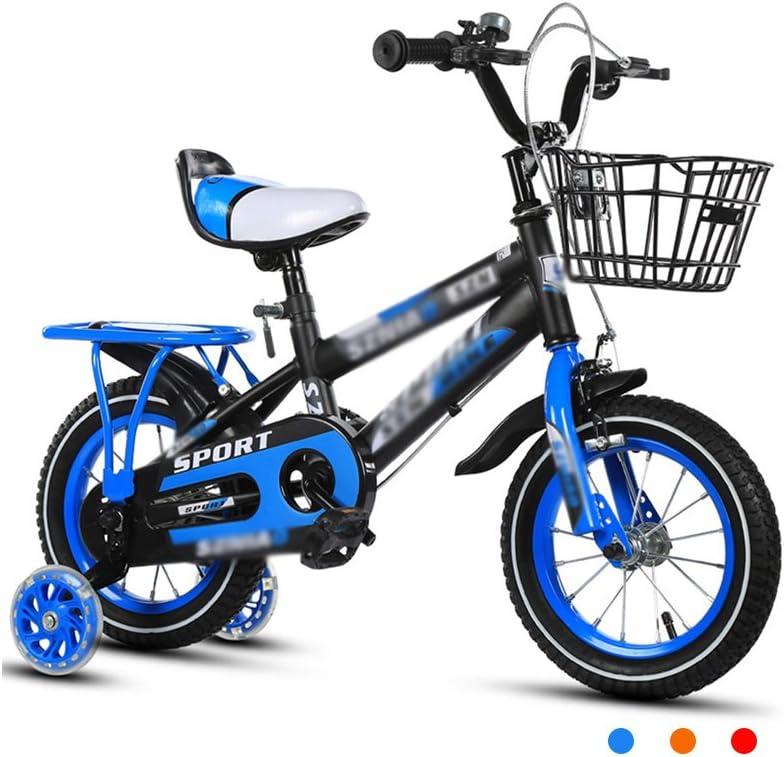 子供の自転車2-3-4-6-7-8歳の赤ちゃん12-14-16-18インチベビーカーの3C認証子の車 (Color : RED, Size : 14 INCHES)