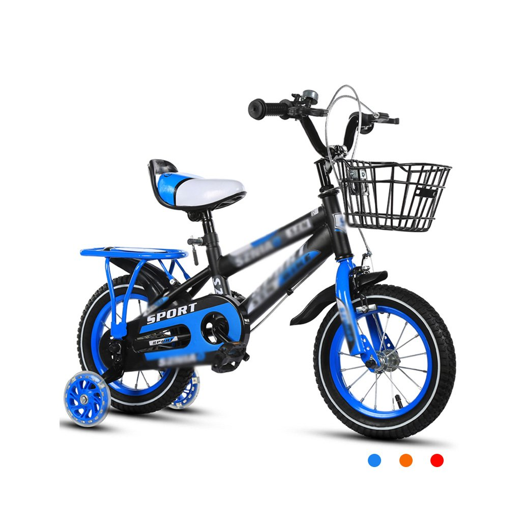 Gai Huaホーム子供用自転車子供のBicycles, 2 – 3 - 4 – , 7 , – 8 Years Old Baby 12 – 14 – 16 – 18インチBaby Carriage 3 C証明子車 B07DQJVR5Z 14 inches|ブルー ブルー 14 inches