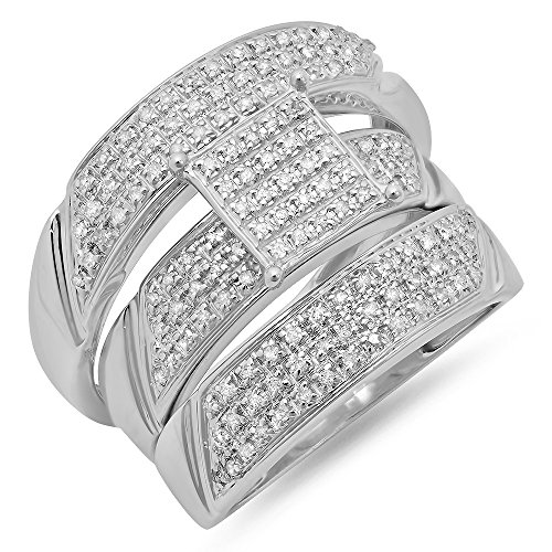 0.65 Ct Diamond Band - 1