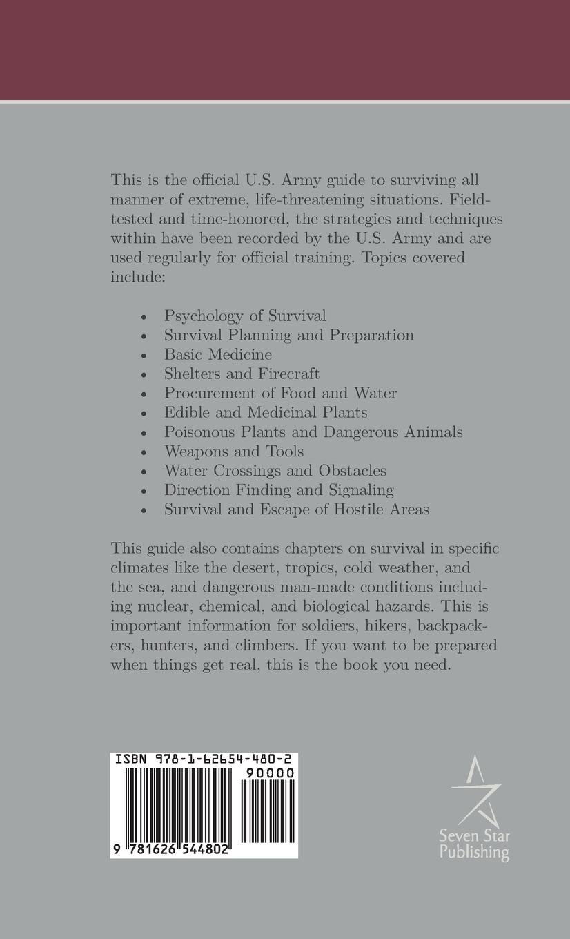 Buy U S  Army Survival Manual: FM 21-76 Book Online at Low Prices in