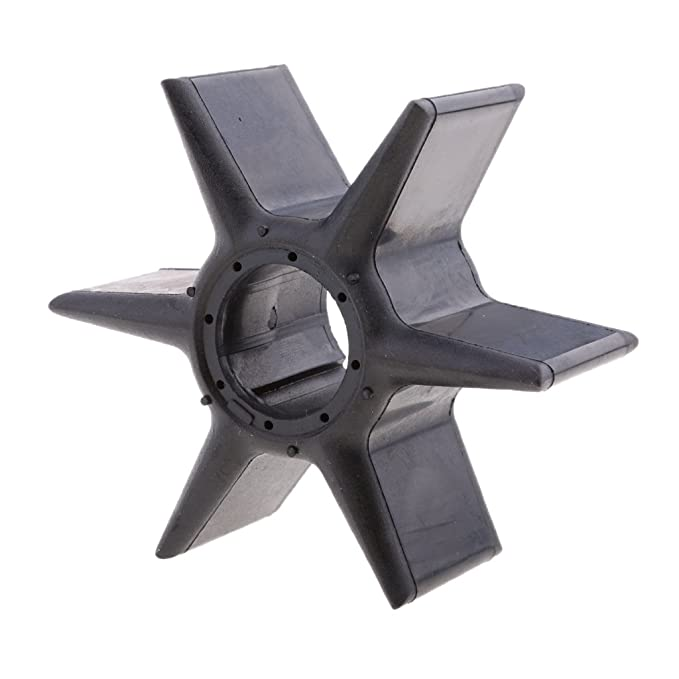 Water Pump Impeller for Yamaha F4 4HP 4-Stroke 1999-09 Outboard 6E0-44352-00-00