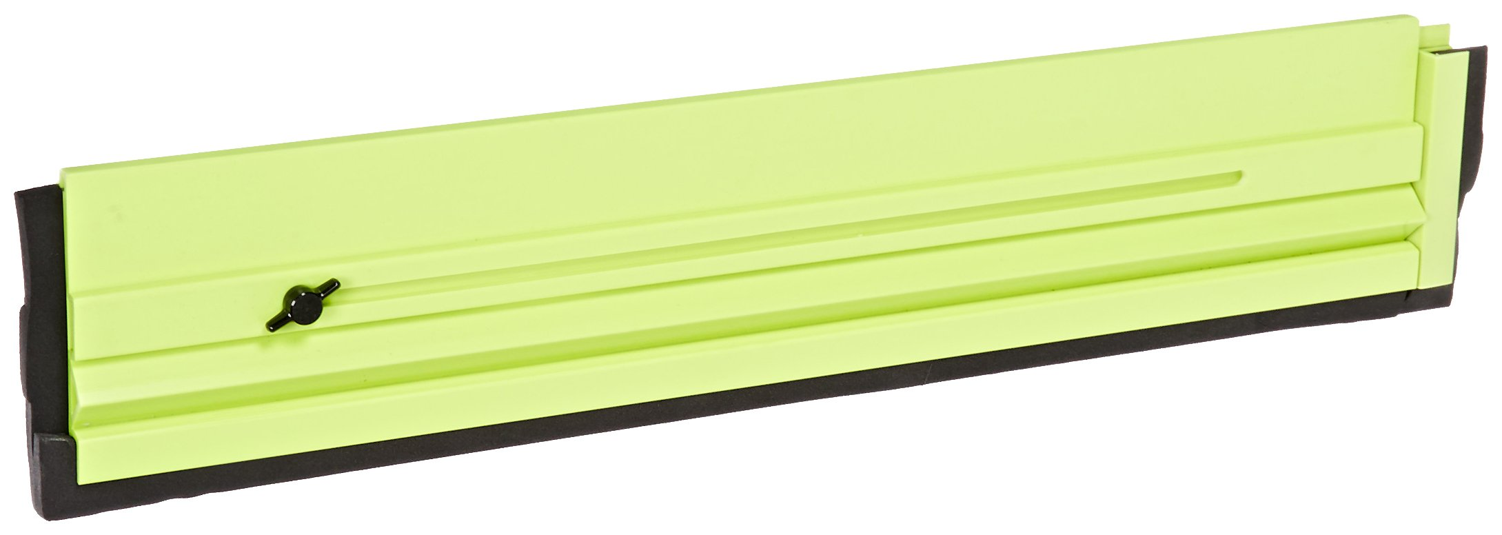 Impact 7240 Plastic/Rubber Seal Floor Dam, 24'' Extends to 40'' Length, Fluorescent Yellow/Green
