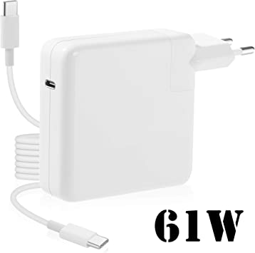 61w USB-C Power Adapter Mac Charger Compatible con Macbook Pro Mac ...
