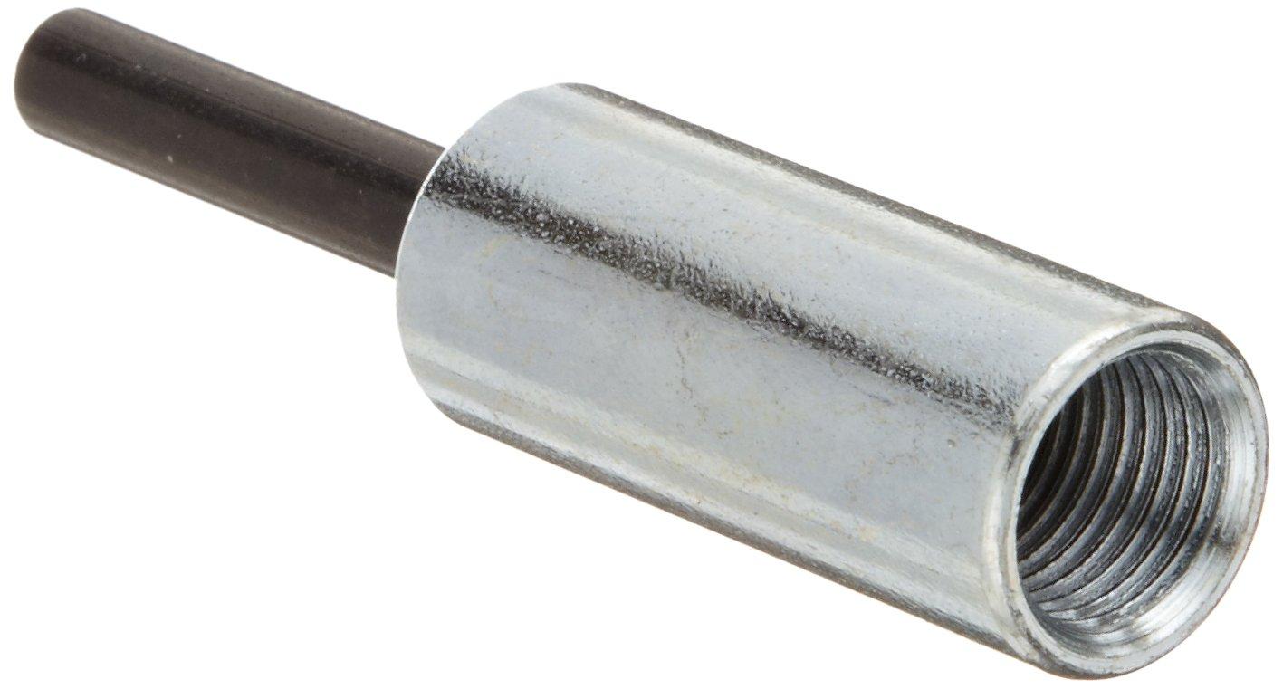 Merit BPM-4 Mandrel for Bore Polishers, 1/4' Shank Diameter, 1/2'-20 Thread Size (Pack of 1) 1/4 Shank Diameter 1/2-20 Thread Size (Pack of 1) St. Gobain Abrasives 08834154183