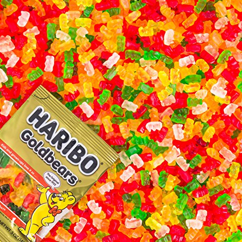 Haribo Gummi Candy, Goldbears Gummy Candy, 48 Ounce Bag (Pack of 4) by Haribo (Image #2)