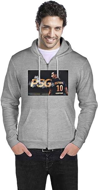 Best PSG Player Zlatan Ibrahimovic Sudadera con capucha hombres XX-Large: Amazon.es: Ropa y accesorios