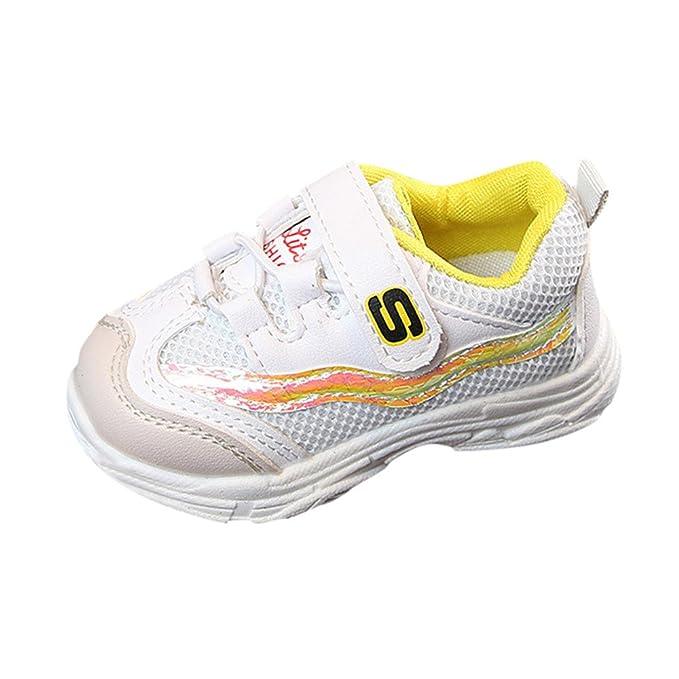 YanHoo Zapatos para niños Niños pequeños Deportes para niños Zapatos para Correr para niños Chicos Chicas
