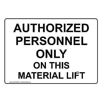Amazon.com: compliancesigns Personal Autorizado sólo en este ...