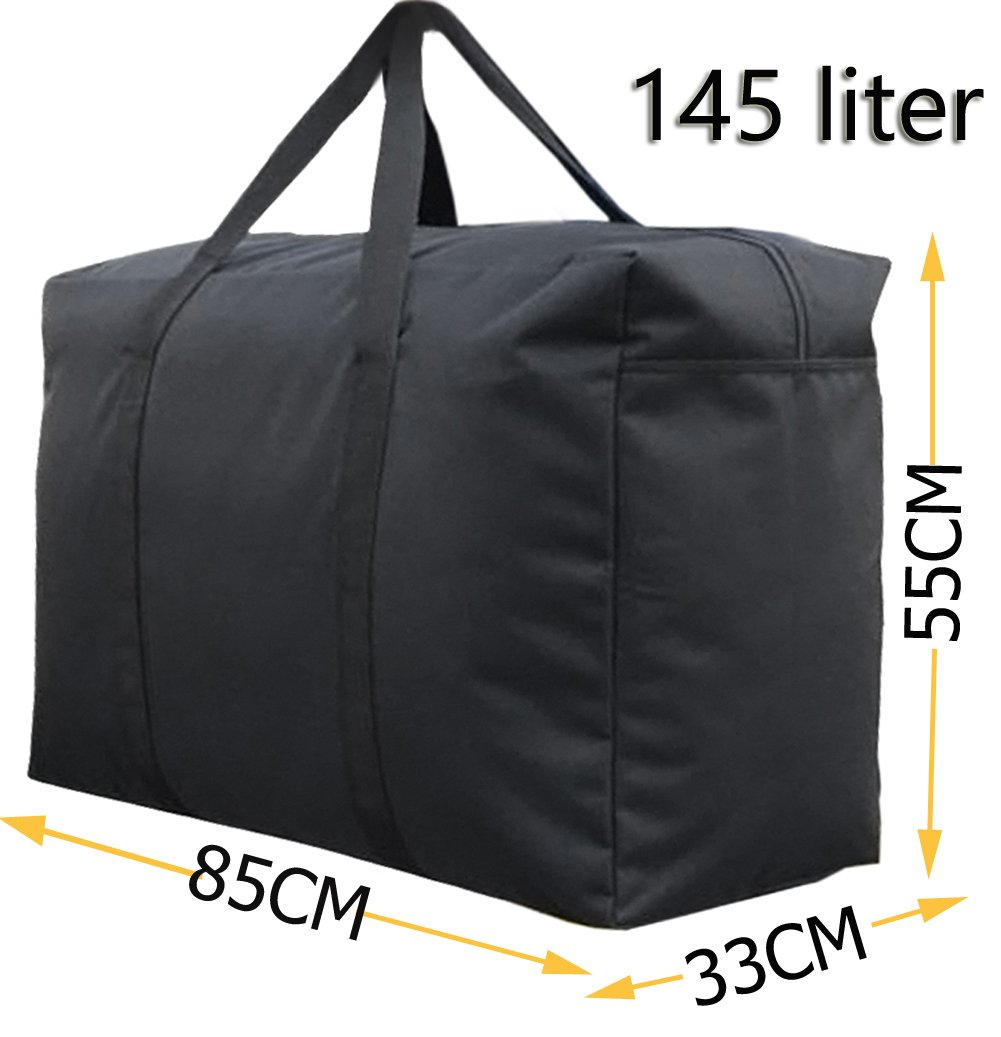 Large Bedding Storage Bag with Handles for Duvet Blankets Pillows Toys Holder Underbed Clothes Shoes Organiser Household Laundry Bag House Moving Bag Travel Hand Luggage Camping Carry Bag Duffle