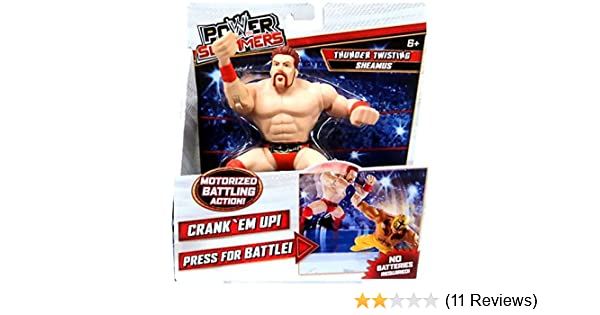 Mattel New Toy Boys Fight Gift Fun WWE Power Slammers The Rock Wrestling Ages 6