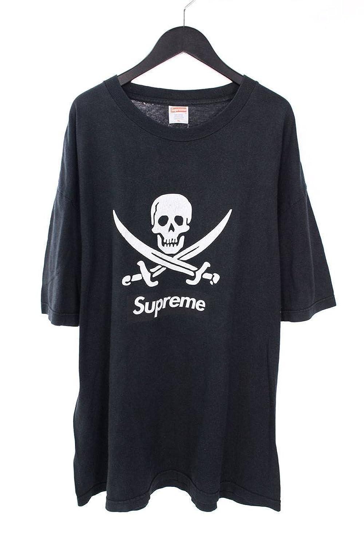 (シュプリーム) SUPREME ×ネイバーフッド/NEIGHBORHOOD 【07SS】【Skull Box Logo Tee】スカルボックスロゴTシャツ(XL/ブラック) 中古 B07FP5C1YR  -