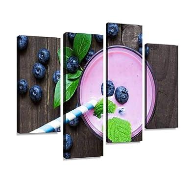 Blueberry Photograph Nature Fruit Berry Art Print Food Photography Fruit Wall Art Fruit Kitchen Dinning Room Decor
