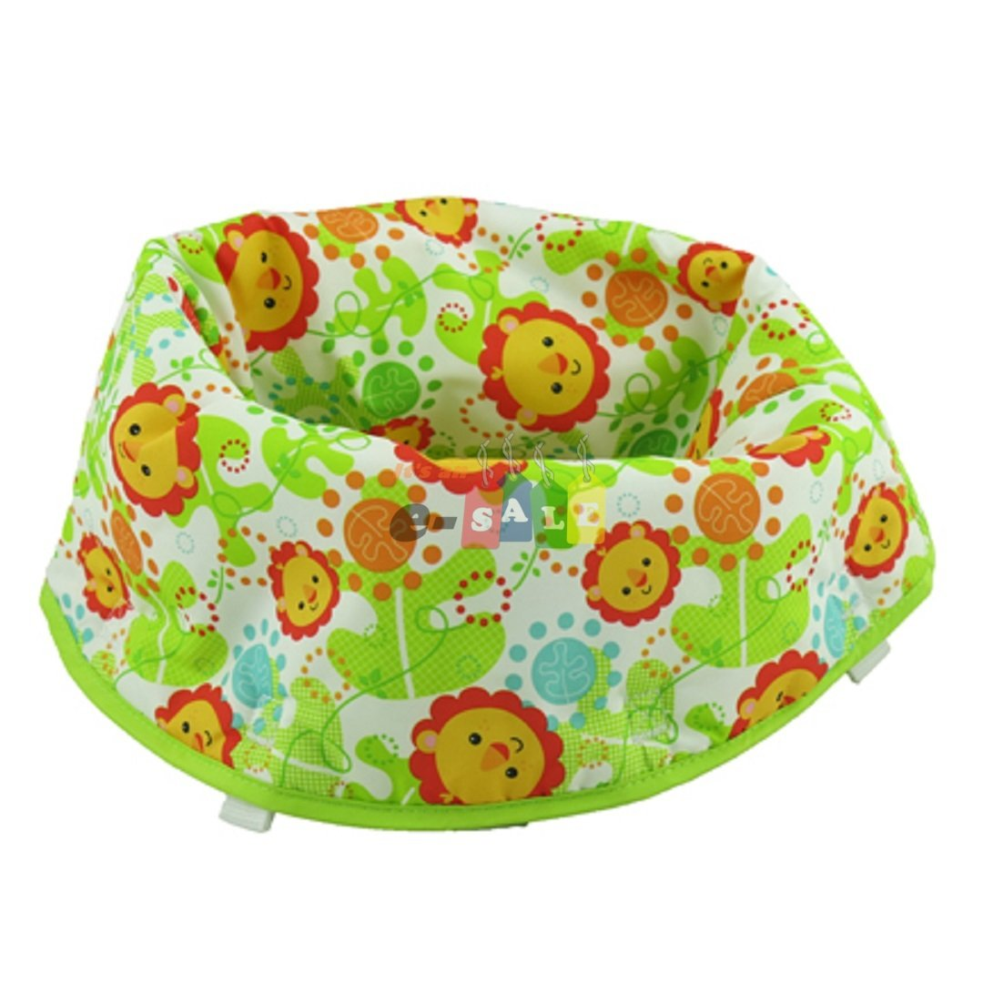 Fisher Price Jumperoo Replacement Seat Pad (CHN44 RAINFOREST FRIENDS) Fisher Price Replacement