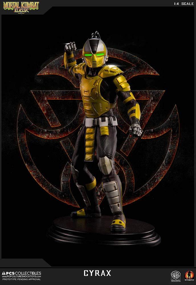 Amazon.com: Mortal Kombat Klassik - Estatua de Cyrax (1/4 ...