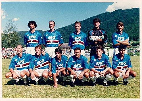 Vintage photo of Team photo of the Italian football team Sampdoria FC