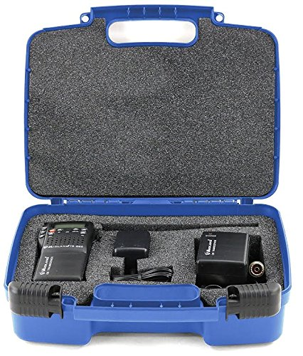 Life Made Better Storage Organizer - Compatible with Midland 75-822 40 Channel CB-Way Radio And Accessories- Durable Carrying Case - Blue