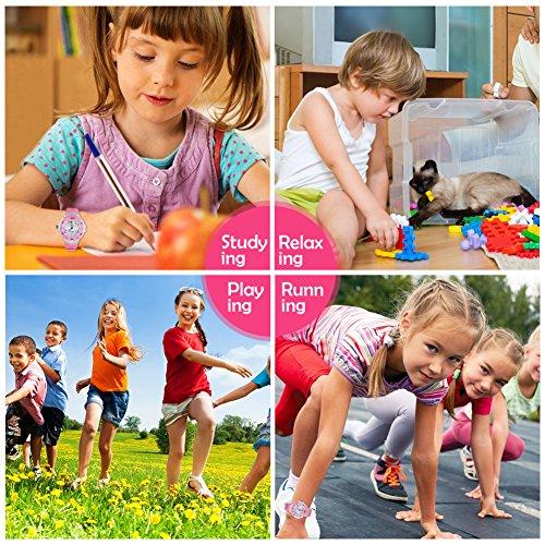 116 Kids Watch 30M Waterproof,Children Cartoon Wristwatch Child Silicone Wrist Watches Gift for Boys Girls Little Child – PerSuper (Pink) by PERSUPER (Image #5)