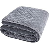 BUZIO Removable Duvet Cover Weighted Blanket Inner Layer Keep Clean Just Cover, Easy Care, 48 x 72 in