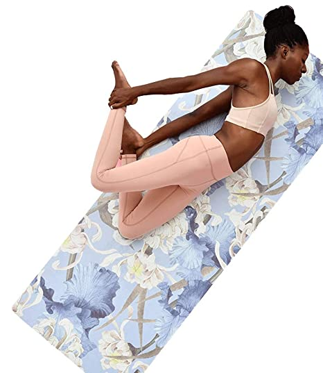 Estera plegable del ejercicio de la gimnasia Estera de yoga ...