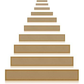 Gentil 15 Pack(4u201dx 24u201d),Non Slip Stair Tread Anti