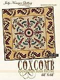 Judy Niemeyer 'Coxcomb' Paper Foundation Piecing Quilt Pattern