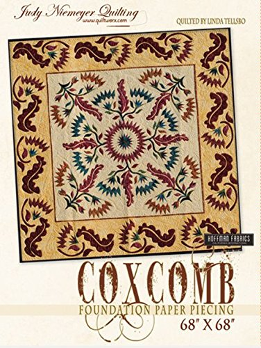 Judy Niemeyer 'Coxcomb' Paper Foundation Piecing Quilt Pattern by Judy Niemeyer Quilting