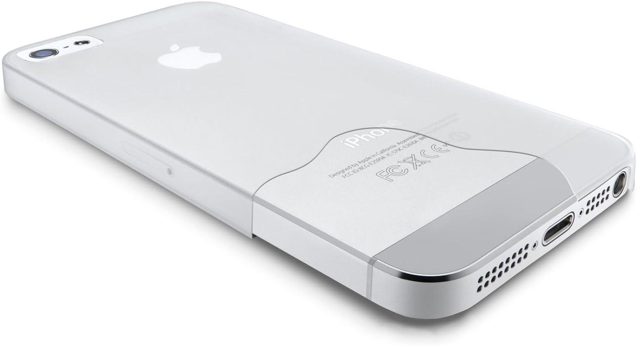 Cellular Line 035 Custodia Ultrasottile per iPhone 5/5S, Trasparente