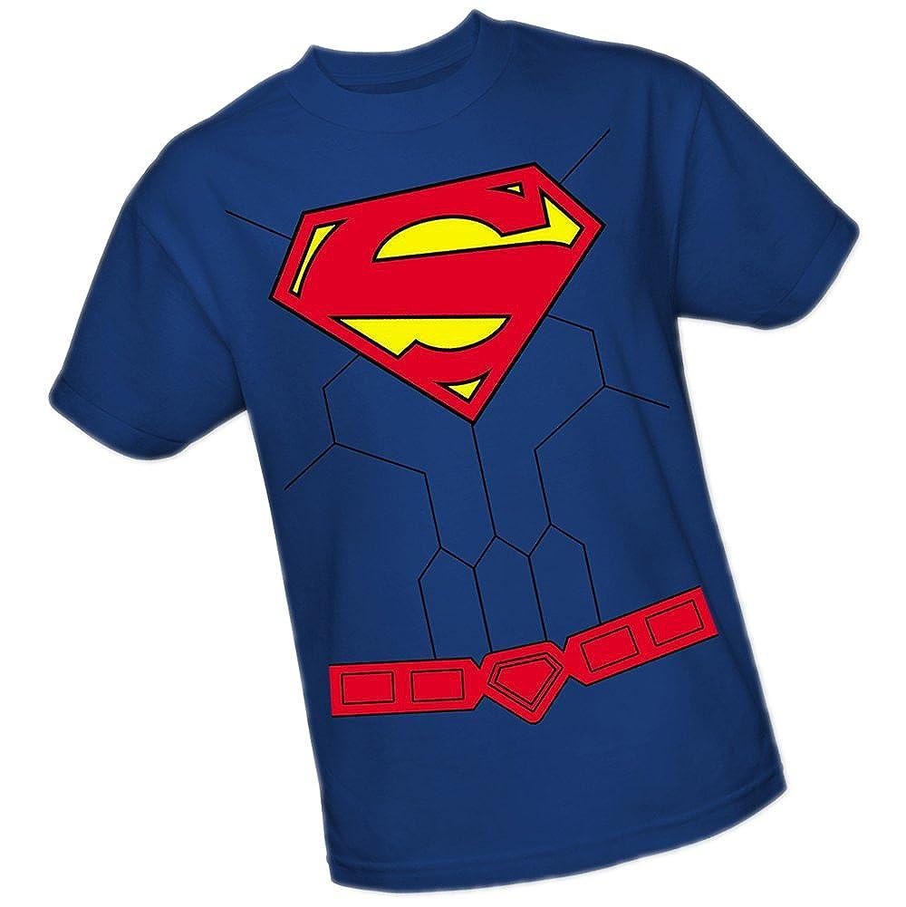 DC Comics Superman Traje The New 52 Adulto Camiseta, XXXL ...