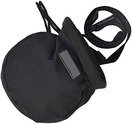 Bolsa de Almacenamiento de Polvo de magnesio con cordón Bolsa de Tiza para Escalada en Roca Gimnasia Fitness