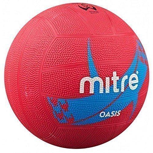 MITRE B9200 OASIS NETBALL EXTÉRIEUR DE JEU MATCH ENTRAÎNEMENT & BALLE D'ENTRAÎNEMENT BALL SZ 4-5
