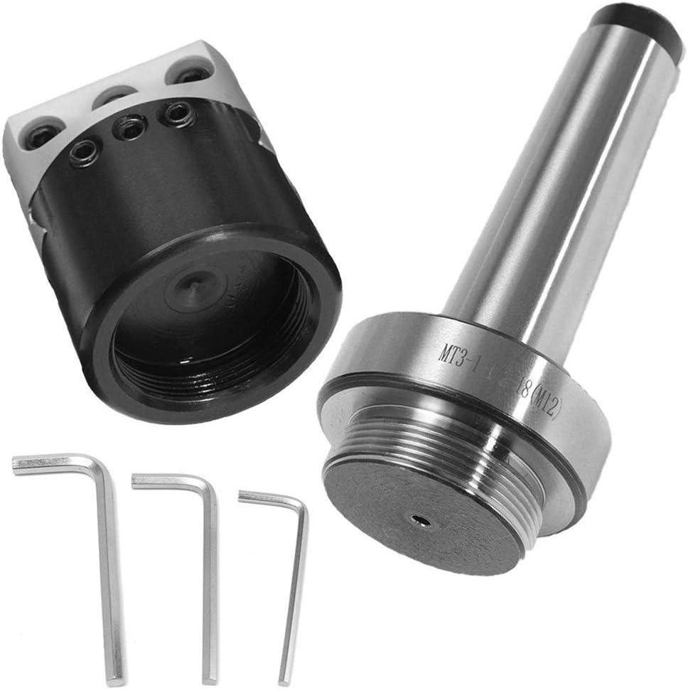 GLG-GLG 50mm MT3-M12 Morse Taper Boring Bar for Lathe Milling Lathe Tools Lathe Accessories