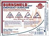 Burnshield Premium Digit Emergency Burn Dressing For Fingers and Toes 1'' x 20'' Strip Fda Approved