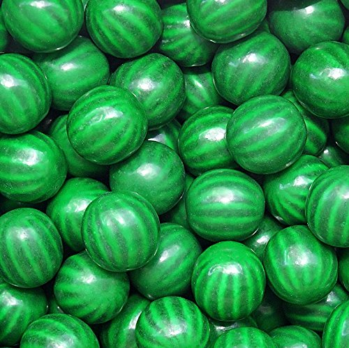 Dubble Bubble Watermelon Gumballs - 2 lbs + Bonus - Gumballs Flavored