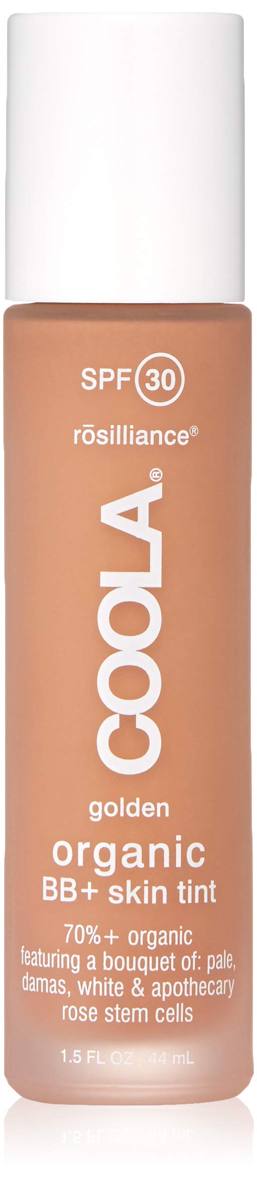 COOLA Rosilliance Mineral BB+ Cream Tinted Organic Sunscreen | Broad Spectrum SPF 30 | Vegan | Water-Resistant | Ultra-Moisturizing | Antioxidant Enriched | Golden by Coola Suncare