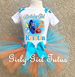 Finding Dory Girls Personalized Custom Birthday Outfit