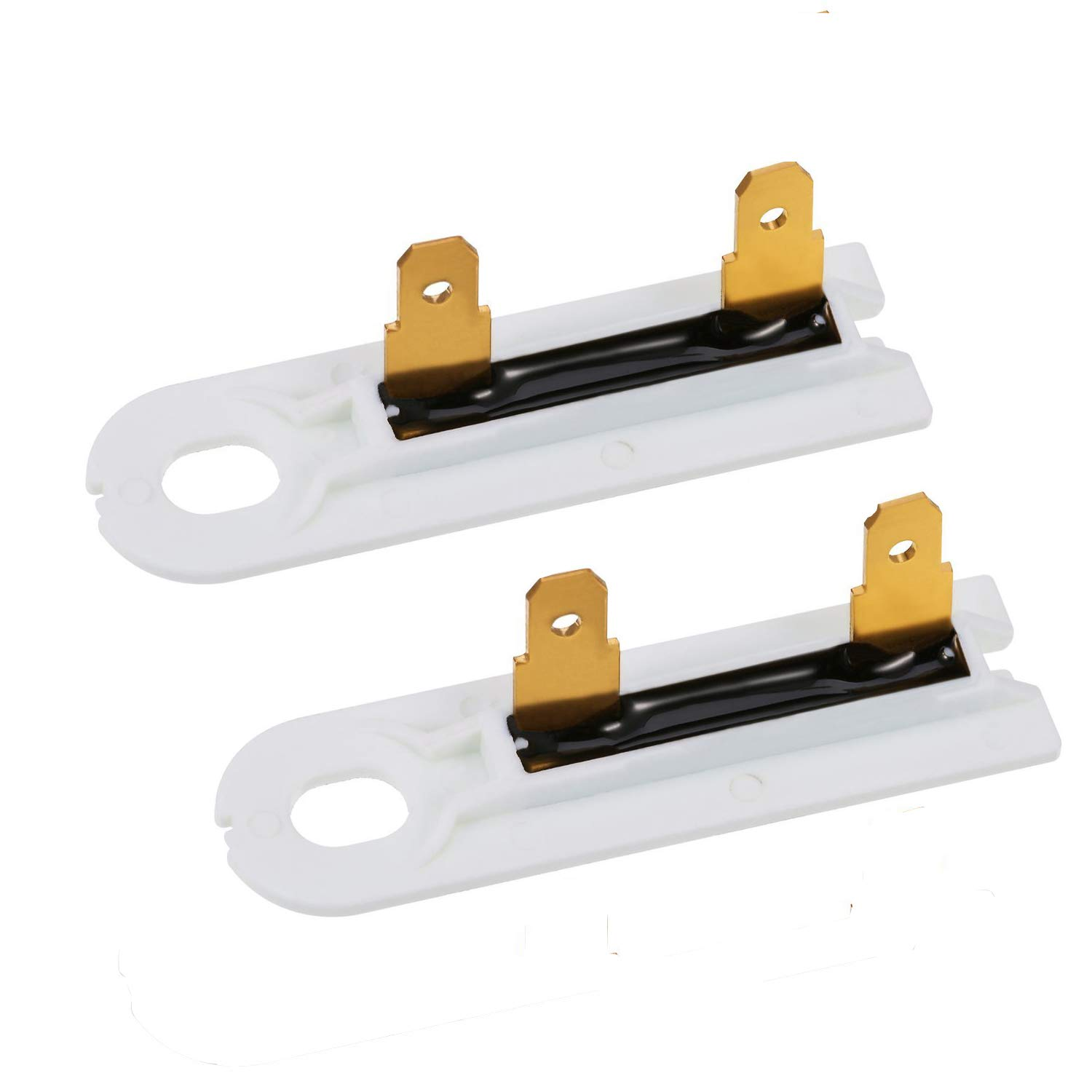3392519 Dryer Thermal Fuse Thermofuse Replacement Part Compatible for Whirlpool, Kenmore, KitchenAid, Roper,Admiral, Estate, Inglis, Crosley, Maytag, Amana, Magic Chef- PACK OF 2