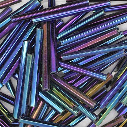 Metallic Bugle Beads - 4