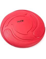 PetPäl Hunde Frisbee Naturkautschuk Schwimmend | Gummispielzeug aus Naturgummi Ø 23cm | Wasserspielzeug & Schwimmspielzeug für Große & Kleine Hunde