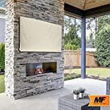 """Outdoor TV Cover - 55"""" Model for 53"""" - 57"""" Flat"""