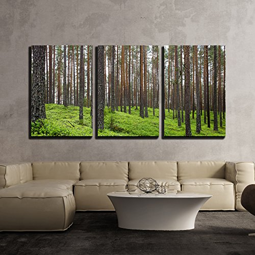 Spring Forest x3 Panels