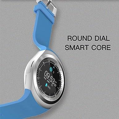 Reloj Deportivo Bluetooth Smartwatch Premium Y1 Plus podómetro de ...