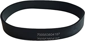 Think Crucial Replacement Vacuum Belt – Compatible with Hoover Part # 40201160, 38528033, AH20080, 38528058 & 38528057 – Fits Hoover WindTunnel Upright EH51000, U5458900, U5458910 – (1 Pack)
