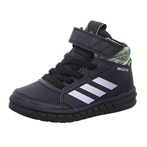 Adidas Boy's AltaSport MID BTW K Blue/Refsil/Cblack Running ...